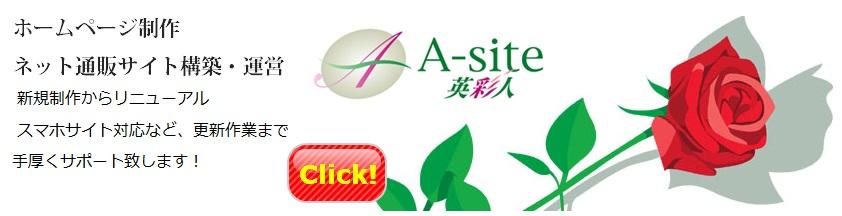 茨城県水戸市のホームページ制作なら英彩人A-site